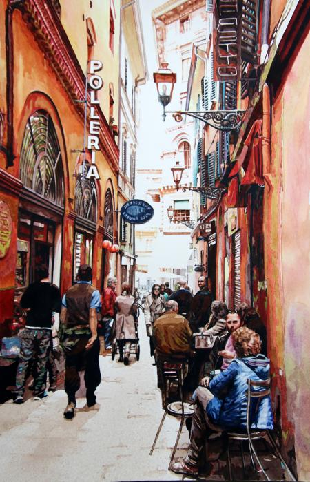 Bologna citiscape Italy