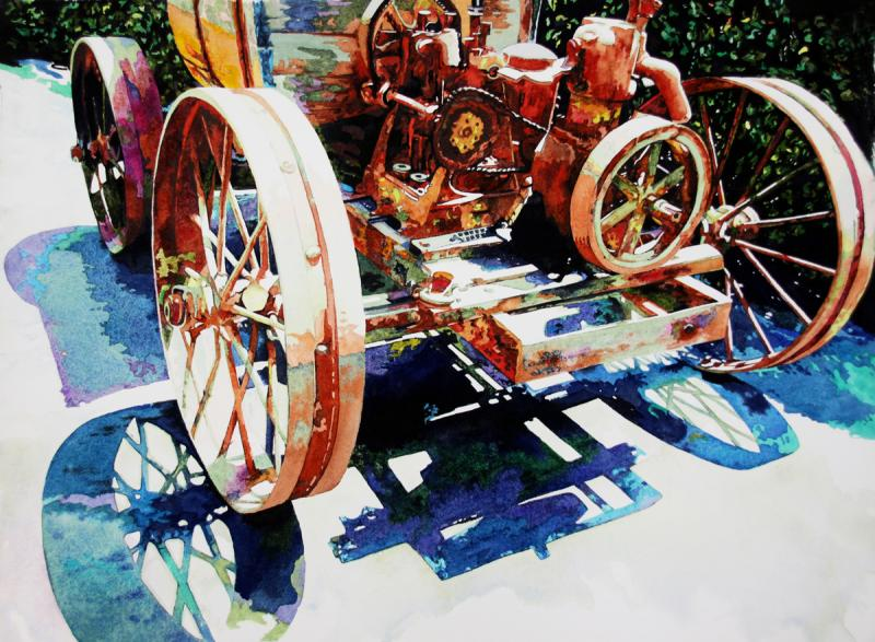 Ancient Hopper, Farm relic, Farm Equipment